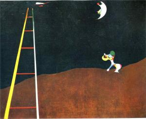 Joan Miro dog-barking-at-the-moon_jpg!HD