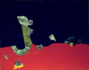 Max Ernst Landscape with shells 1928