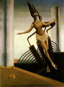 Max Ernst the-wavering-woman-1923