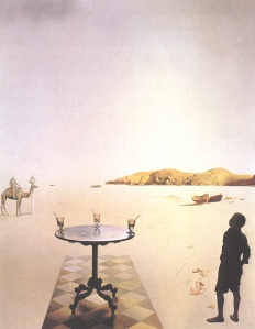 Salvador Dali sun-table 1936