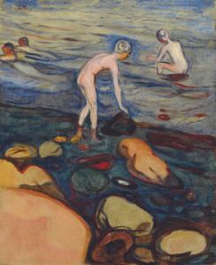 Bather, Edvard Munch