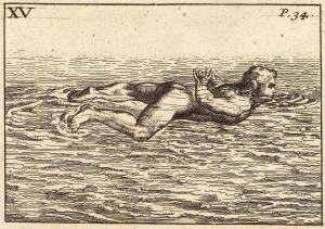 Melchisédec Thévenot The art of swimming 1699