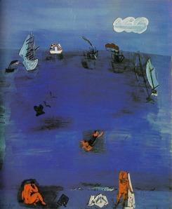 Raoul Dufy the-mediterranean-1923