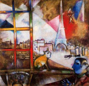 Marc Chagall paris-through-the-window-1913