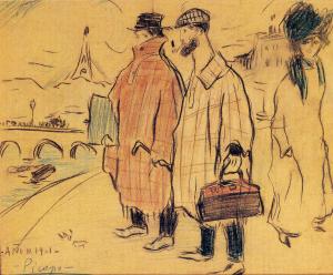 Pablo PicassoPablo Picasso and Sebastìa Junyer-Vidal arrives to Paris 1901