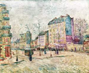 Vincent van Gogh boulevard-de-clichy-1887(1)