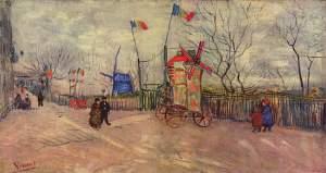 Vincent van Gogh the-allotments-at-montmartre-1887