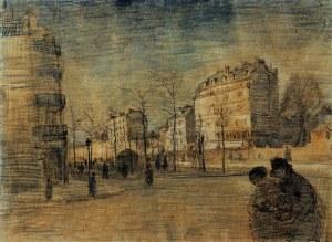 Vincent van Gogh the-boulevard-de-clichy-1887
