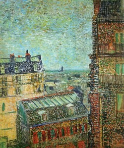 Vincent van Gogh view-of-paris-from-vincent-s-room-in-the-rue-lepic-1887