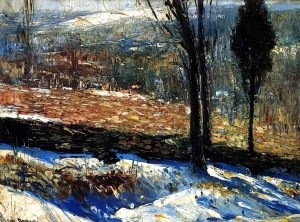 1909 The Stone Fence - George Bellows