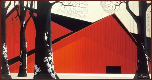 Eyvind Earlethe-great-red-barn-1985