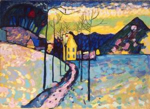 Kandinsky Winter landscape, 1909